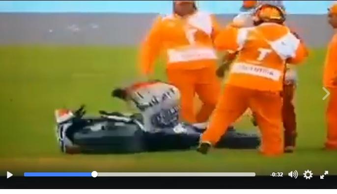 Lorenzo Banting Motorny Usai Crash di Argentinya Jadi Sorotan