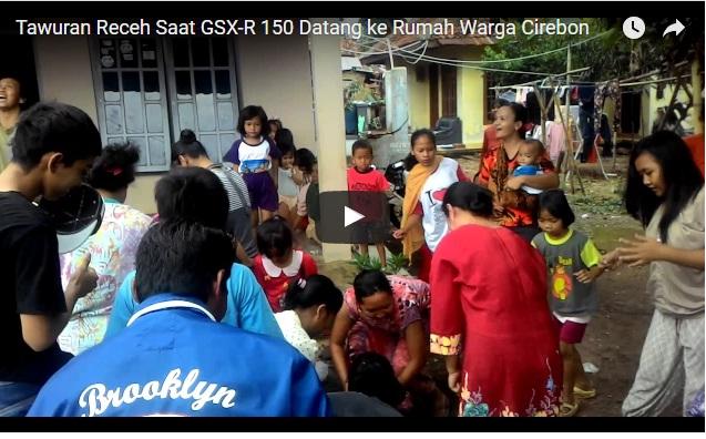 Serunya Tawuran Receh Psca GSX-R 150 Nangkring di Garasi Blogger 78DK Cirebon
