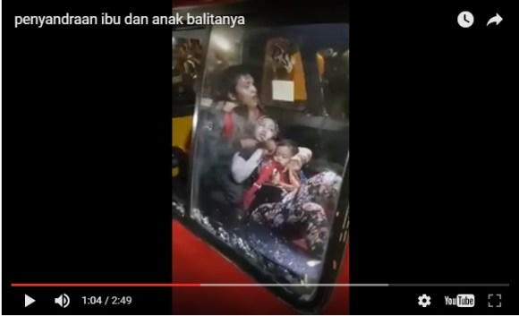Vidio Dramatis Aksi Nekat Jambret Todong Ibu Gendong Anak Ditembak Polisi