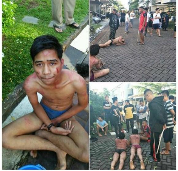 Tiga Begal Nyatroni Jendral Berujung Fatal, Apes dan Bonyok Gan