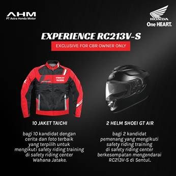 acara Experience Street of MotoGP with RC213V-S