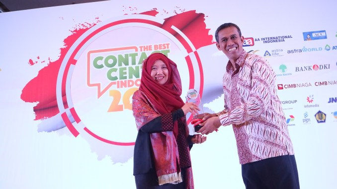 AHM Sabet 13 Penghargaan The Best Contact Center Indonesia 2017