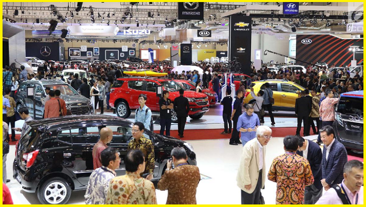 Pameran otomotif GAIKINDO Indonesia International Auto Show (GIIAS) 2017