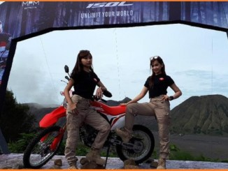 CRF150Ltelah menjual 150 unit motor trail on-off road itu.