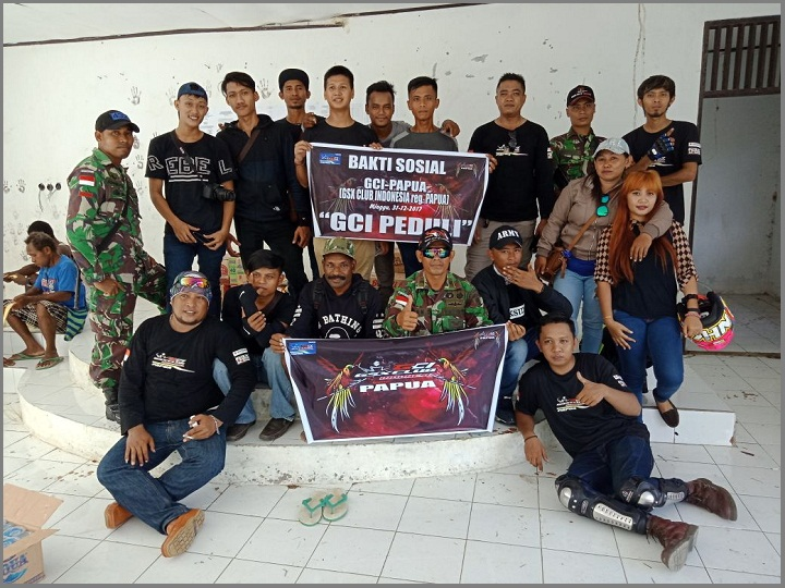 Baksos GSX Club Indonesia (GCI)