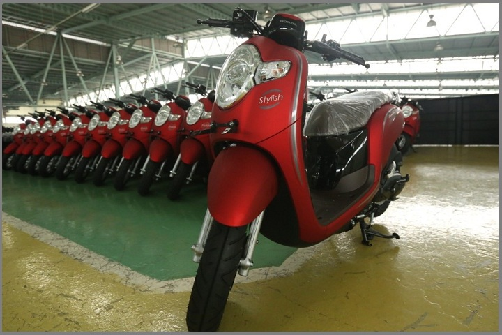 Tampilan New Honda Scoopy