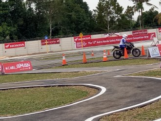 Mega Gallery Foto The 12th Astra Honda Safety Riding Instructor Competition (AH-SRIC) 2018 Day 1 (15)