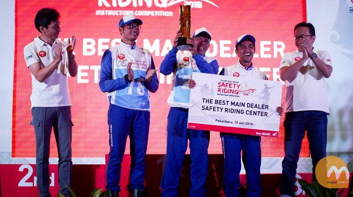 The 12th Astra Honda Safety Riding Instructor Competition (AH-SRIC) 2018 7