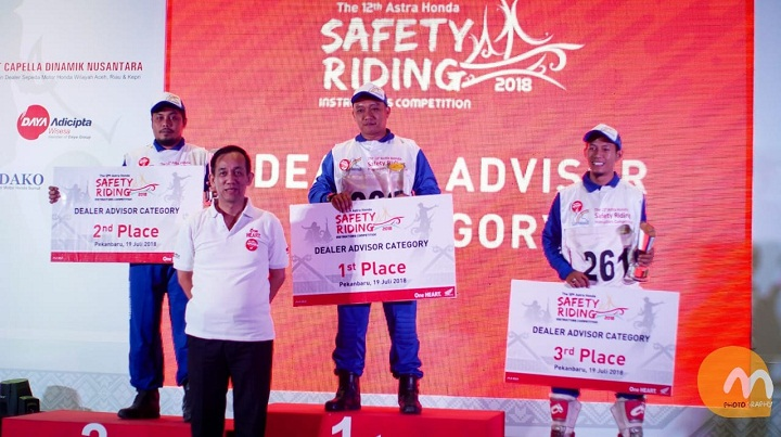 The 12th Astra Honda Safety Riding Instructor Competition (AH-SRIC) 2018 8