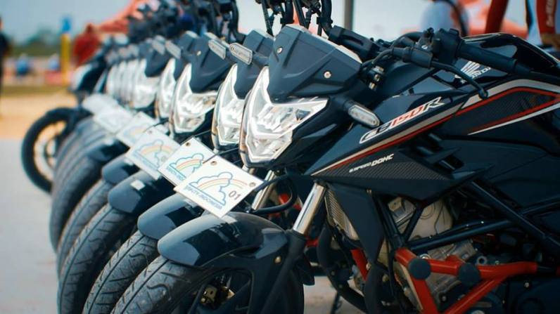 The 12th Astra Honda Safety Riding Instructor Competition (AH-SRIC) 2018 Slalom (11)