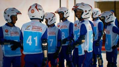 The 12th Astra Honda Safety Riding Instructor Competition (AH-SRIC) 2018 Slalom (5)