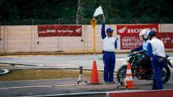 The 12th Astra Honda Safety Riding Instructor Competition (AH-SRIC) 2018 Slalom (9)