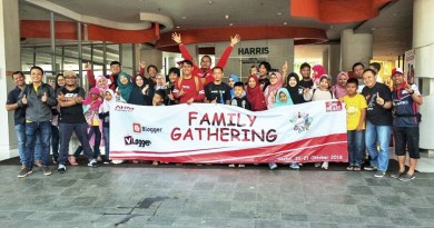 Family Gathering Blogger Vlogger Honda 2018