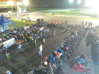 Ratusan Bikers Riding Bareng Dalam Suzuki Saturday Night Ride