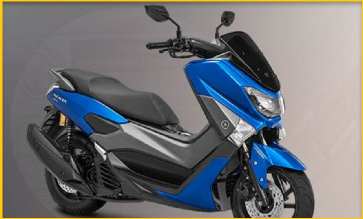 Warna Motor NMAX Blue