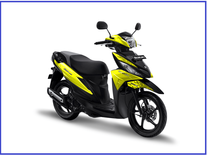 Ada Warna & Striping Baru Suzuki Address Playful di GIIAS 2019