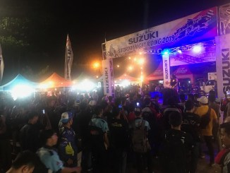 Serunya Riding Bareng Bikers Dalam Suzuki Saturday Night Ride di Banjarmasin