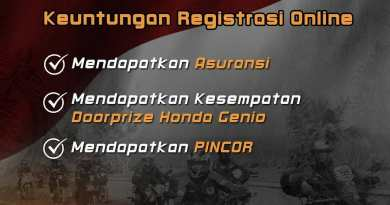 Registrasi Online Honda Bikers Day 2019 Nasional