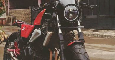 Kasawaki Ninja 250 Modif Big Tracker
