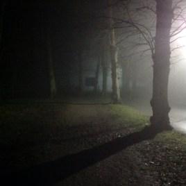 My husband's misty walk to university