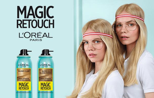 Test  le spray Magic Retouch de L'Oréal Paris ( sampleo )