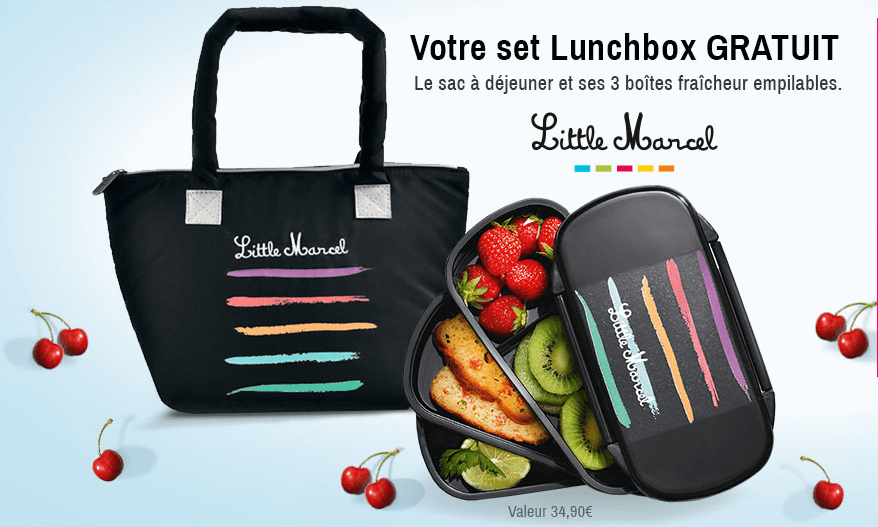 You are currently viewing Bon plan BlanchePorte et Lunchbox Little Marcel