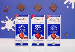 Test Tablettes Lindt Excellence ( Sampleo )