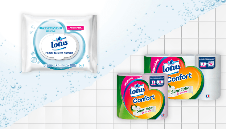 Read more about the article Test Lotus papier Toilette humide