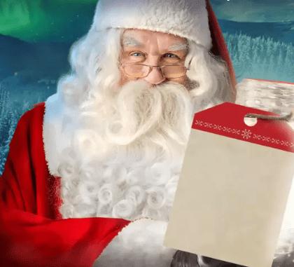 Créer une vidéo personnalisée du Père Noël et recevez une lettre gratuitement