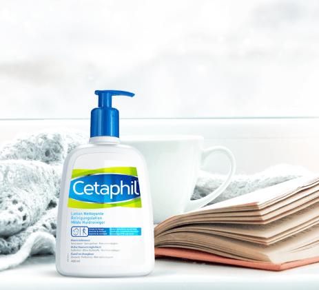 Test de la lotion nettoyante Cetaphil. ( trnd )