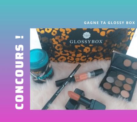 Concours : la glossy box de mai à gagner