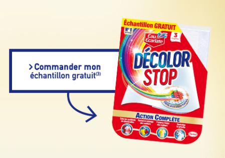 Read more about the article Echantillon Décolor Stop