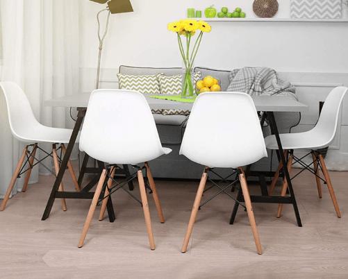 Read more about the article Bon plan déco : 4 chaises scandinave à moins de 60€