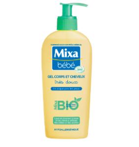 Test gel corps et cheveux bio Mixa