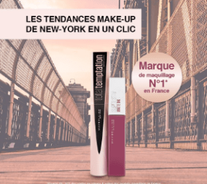 Bon plan maquillage Maybelline