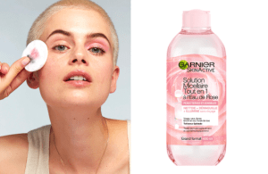 Read more about the article Test eau micellaire Garnier Eau de Rose ( Sampleo )