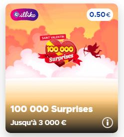 18.50€ en chèque cadeau Amazon