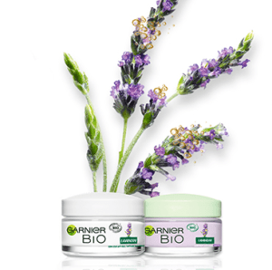 Read more about the article Test la routine anti-âge Lavandin Garnier Bio ( sampleo )