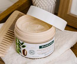 Test masque 3 en 1 pour cheveux très secs et abîmés de Klorane ( Sampleo )