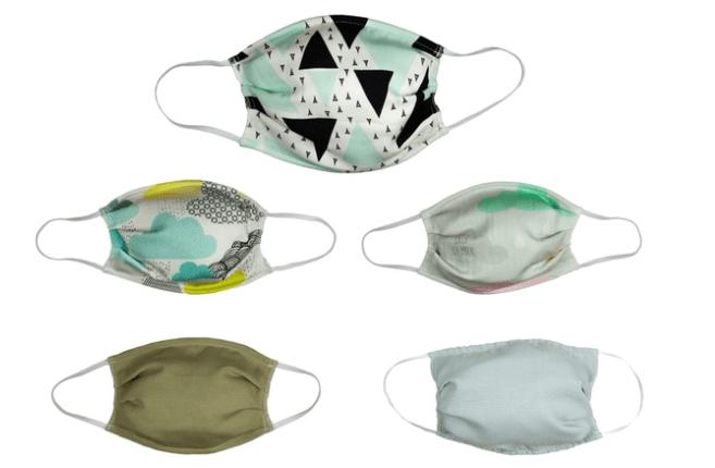 You are currently viewing Lots de 5 masques réutilisables en bambou bio de la marque SDI Paris