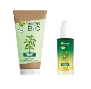 Test 200 routines Garnier Bio à l'huile de Chanvre Bio ( Doctissimo )