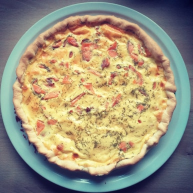 Read more about the article Recette quiche au saumon