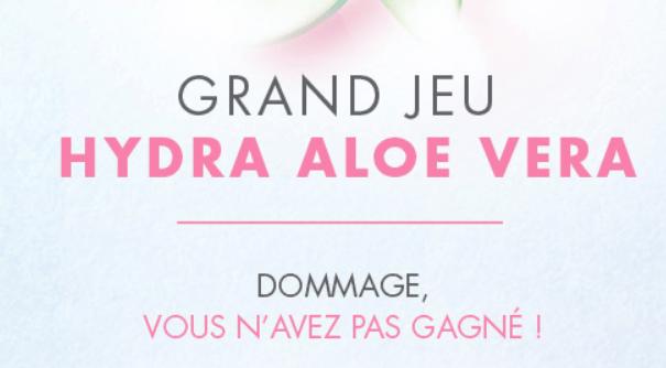 Read more about the article Instant gagnant : jeu hydra aloe vera So'BiO