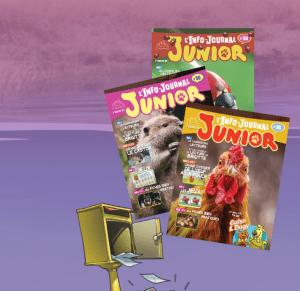 Abonnement gratuit au magasine l'info-journal Junior