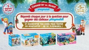 Calendrier de l'avent : gagner de nombreux cadeaux Playmobil avec Gulli