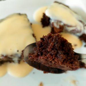 Fondant au chocolat à la poudre de noisette