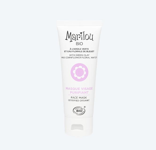 Read more about the article Test  Masque Visage Purifiant de Marilou Bio