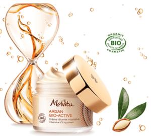 Echantillon  Crème Liftante Intensive Argan Bio-Active de Melvita