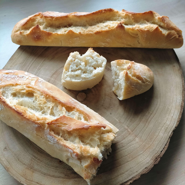 Read more about the article Baguette croustillante sans pétrissage