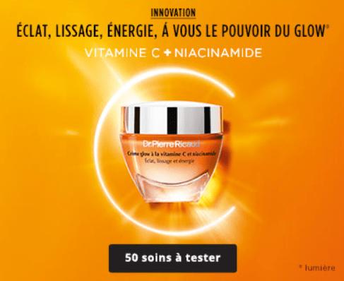 Read more about the article Test Crème glow à la vitamine C et niacinamide de Dr Pierre Ricaud.